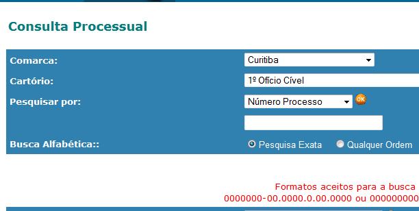 consulta processual assejepar