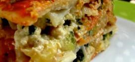 Uma deliciosa lasanha vegetariana. (Foto: Divulgação)