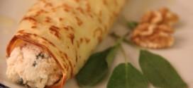 A panqueca de ricota é saborosa e tem poucas calorias. (Foto: Divulgação)