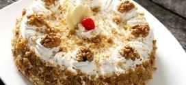 O bolo de nozes é uma delícia fácil de preparar. (Foto: Divulgação)