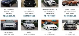 Média de preço carros blindados