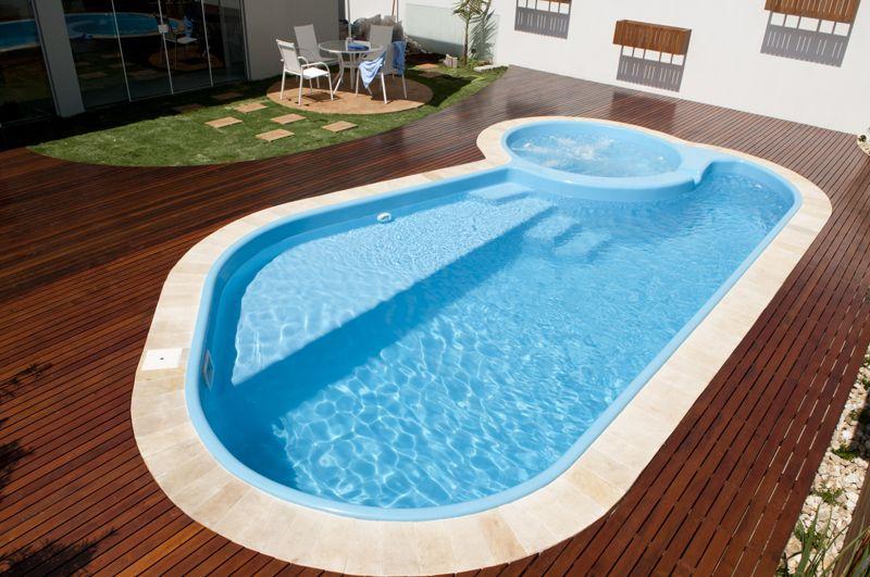 Comprar piscina com o construcard caixa - Piscina redonda fibra ...