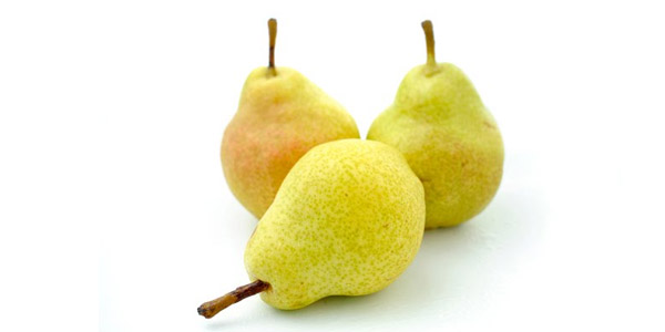 fruta emagrece pera