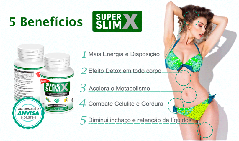 super slim x emagrece