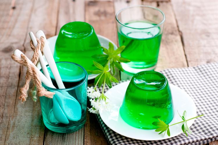 como fazer gelatina de limao