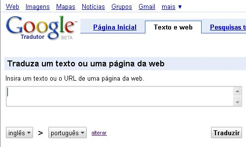 tradutor do google