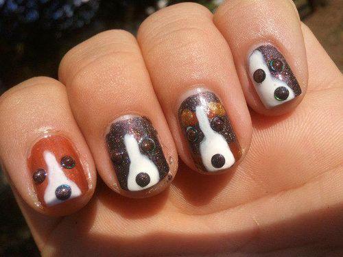 unhas dos beagles