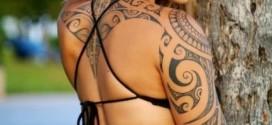 tatuagem maori mulher