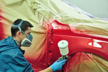 pintura automotiva fazendo