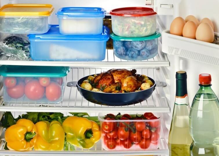 comida durar mais na geladeira